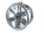 50JM/20/4/6/32/1Ph Long cased axial flow extract fan by Flakt Woods